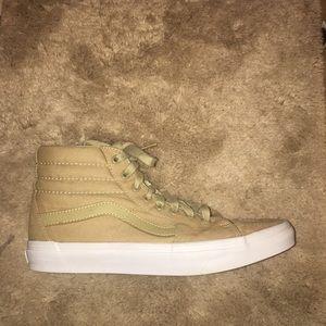Vans Shoes - S8-Hi Vans (Tan Colorway)